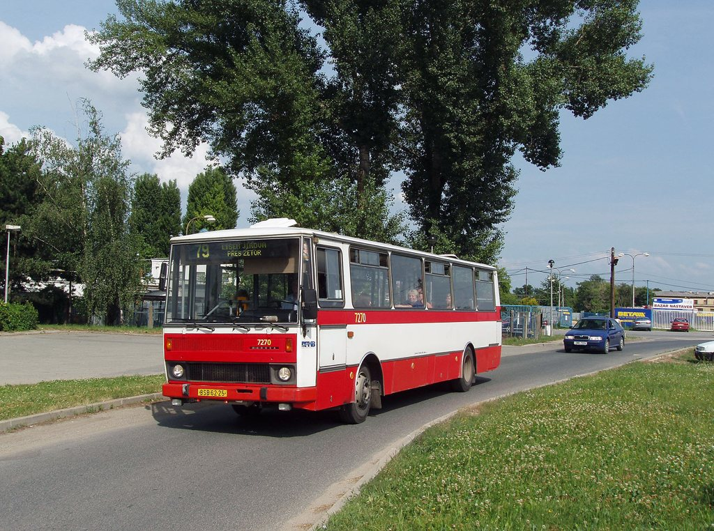 Fotogalerie » Karosa B732.40 7270   Brno   Horní Heršpice