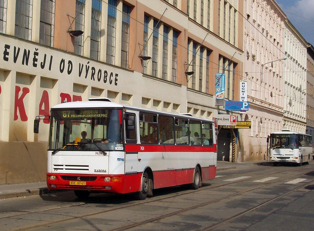 Fotogalerie » Karosa B931.1675 7424 | Brno | Trnitá | Dornych