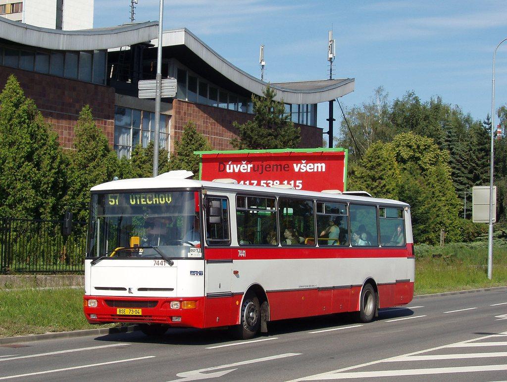 Fotogalerie » Karosa B931.1675 7441 | Brno | Lesná | Okružní
