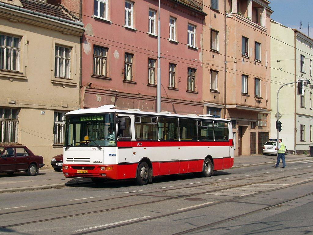 Fotogalerie » Karosa B931E.1707 7472   Brno   Černovice   Olomoucká