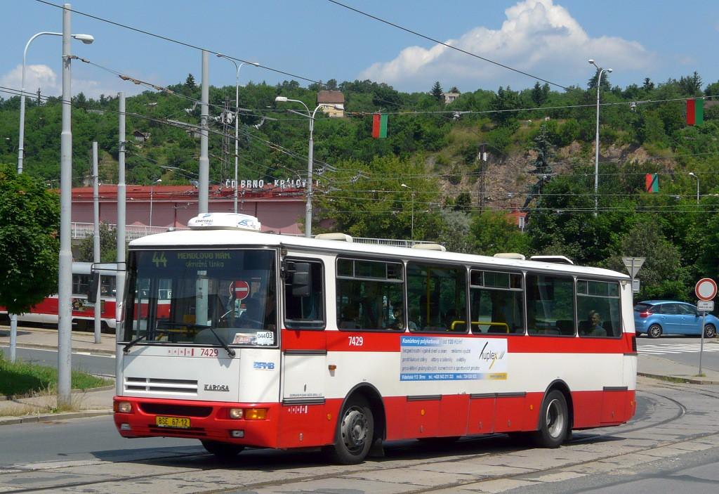 Fotogalerie » Karosa B931.1675 BSE 67-12 7429 | Brno | Královo Pole | Kosmova