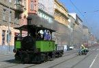Parní lokomotiva Caroline se po opravě vrací do provozu
