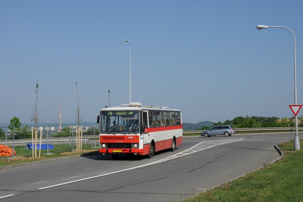 Fotogalerie » Karosa B732.1654.3 BSC 39-52 7380 | Brno | Líšeň | Podruhova