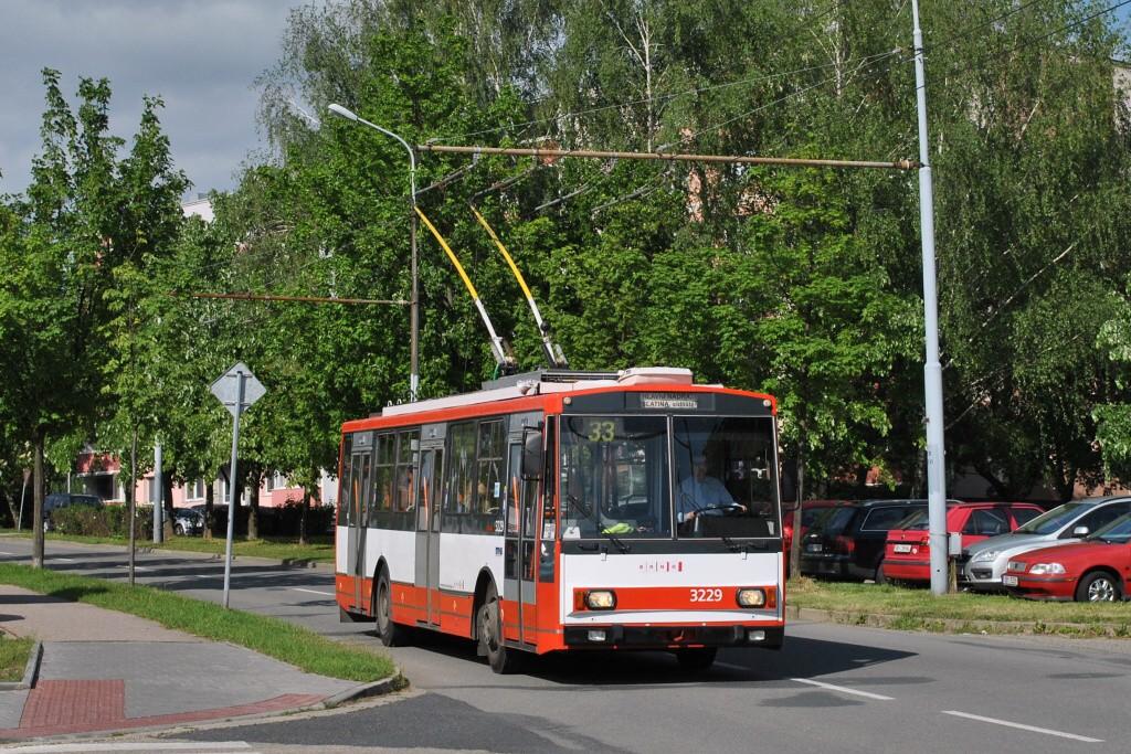 Fotogalerie » Škoda 14Tr08/6 3229 | Brno | Slatina | Mikulčická
