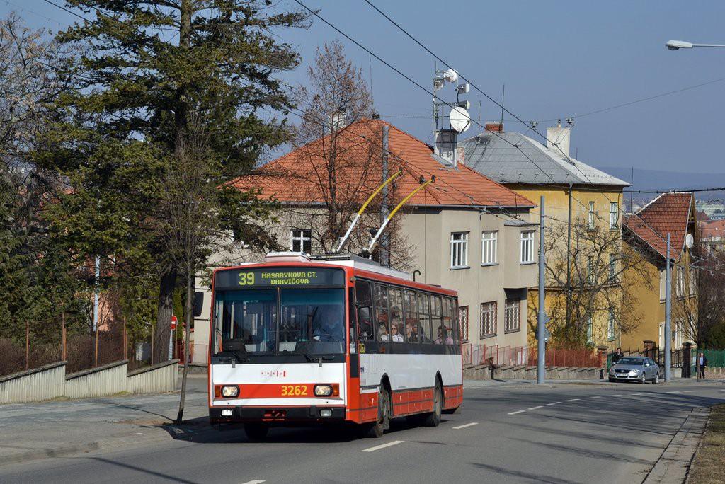 Fotogalerie » Škoda 14TrR 3262 | Brno | Masarykova čtvrť | Tvrdého