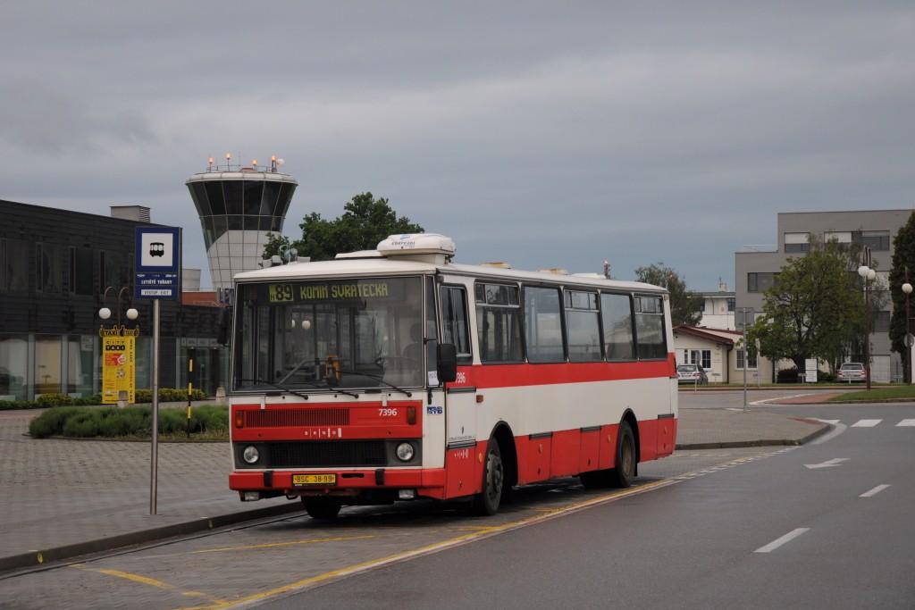 Fotogalerie » Karosa B732.1654.3 BSC 38-99 7396   Brno   Tuřany   Evropská   Letiště Tuřany