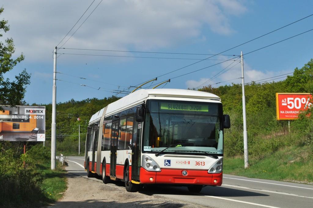 Fotogalerie » Škoda 25Tr Citelis 1B 3613 | Brno | Nový Lískovec | Chironova