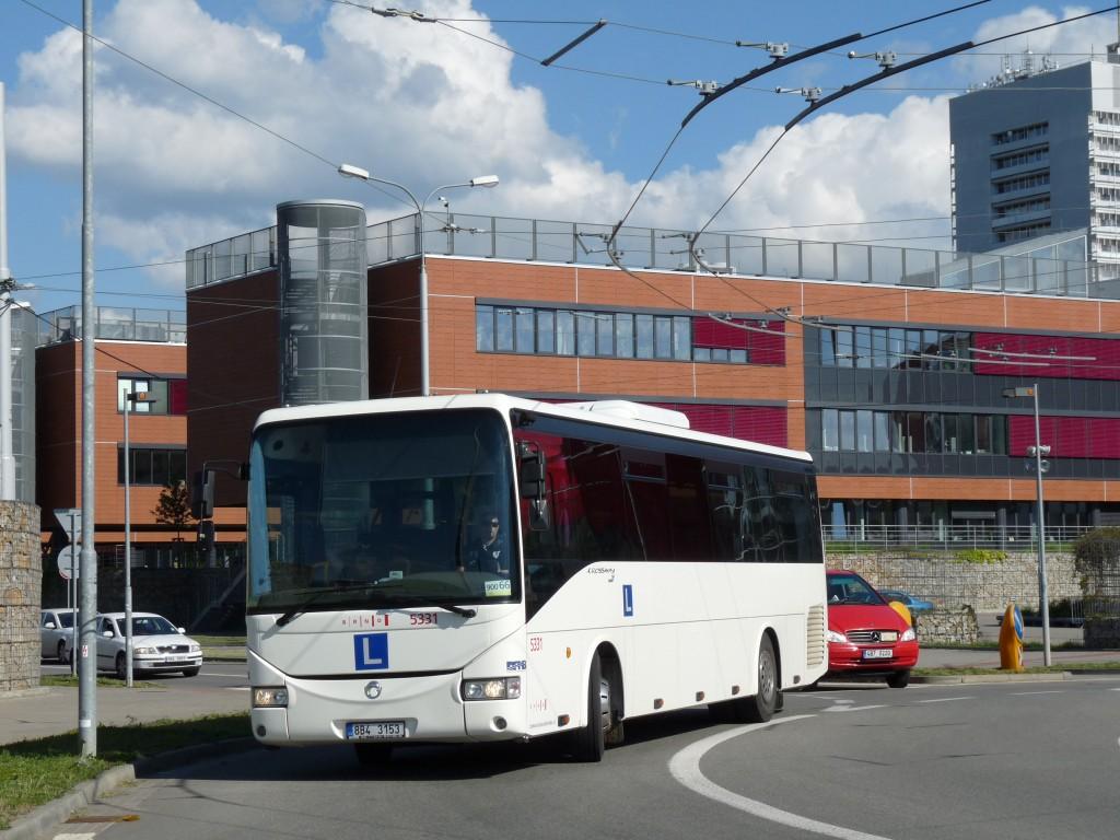 Fotogalerie » Irisbus Crossway 12M 8B4 3153 5331 | Brno | Bohunice | Kamenice