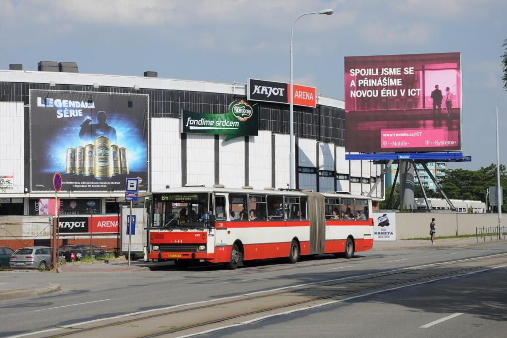 Fotogalerie » Karosa B741.1916 BSC 28-97 2301 | Brno | Staré Brno | Poříčí | Křídlovická