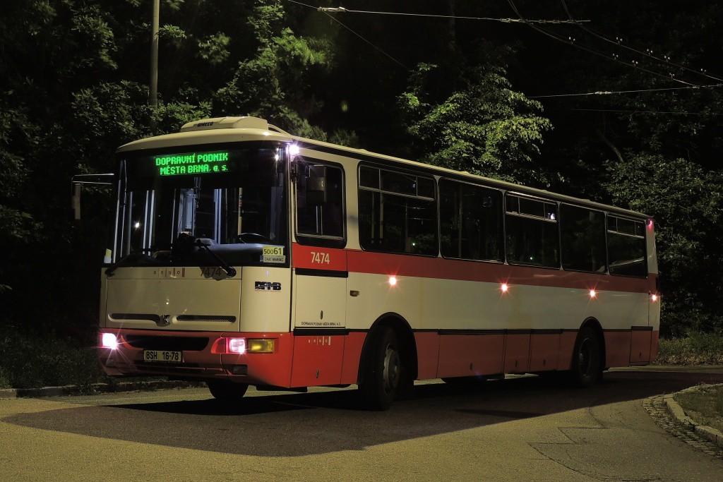 Fotogalerie » Karosa B931E.1707 BSH 16-78 7474 | Brno | Kohoutovice | Žebětínská | Kohoutovice, hájenka, smyčka