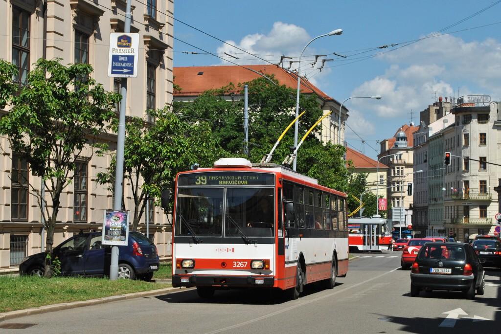 Fotogalerie » Škoda 14TrR 3267 | Brno | střed | Údolní