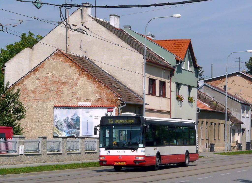 Fotogalerie » Irisbus Citybus 12M 2071.20 BZM 72-38 7608 | Brno | Maloměřice | Obřanská