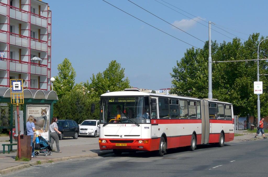 Fotogalerie » Karosa B941E.1962 BSH 14-55 2355 | Brno | Vinohrady | Pálavské náměstí | Bzenecká