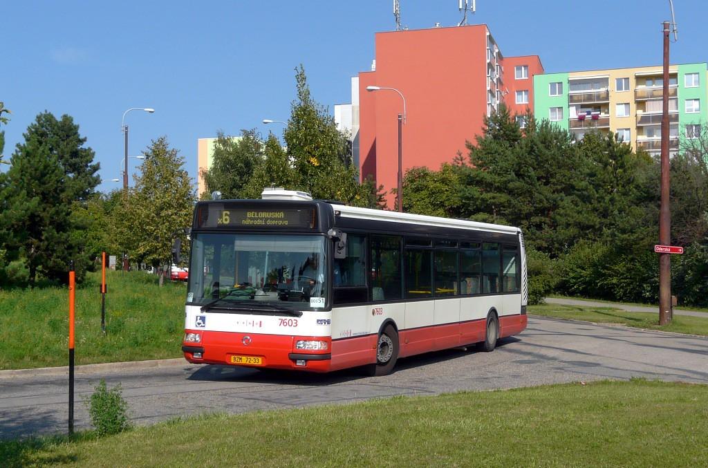 Fotogalerie » Irisbus Citybus 12M 2071.20 BZM 72-33 7603 | Brno | Starý Lískovec | Labská | Labská