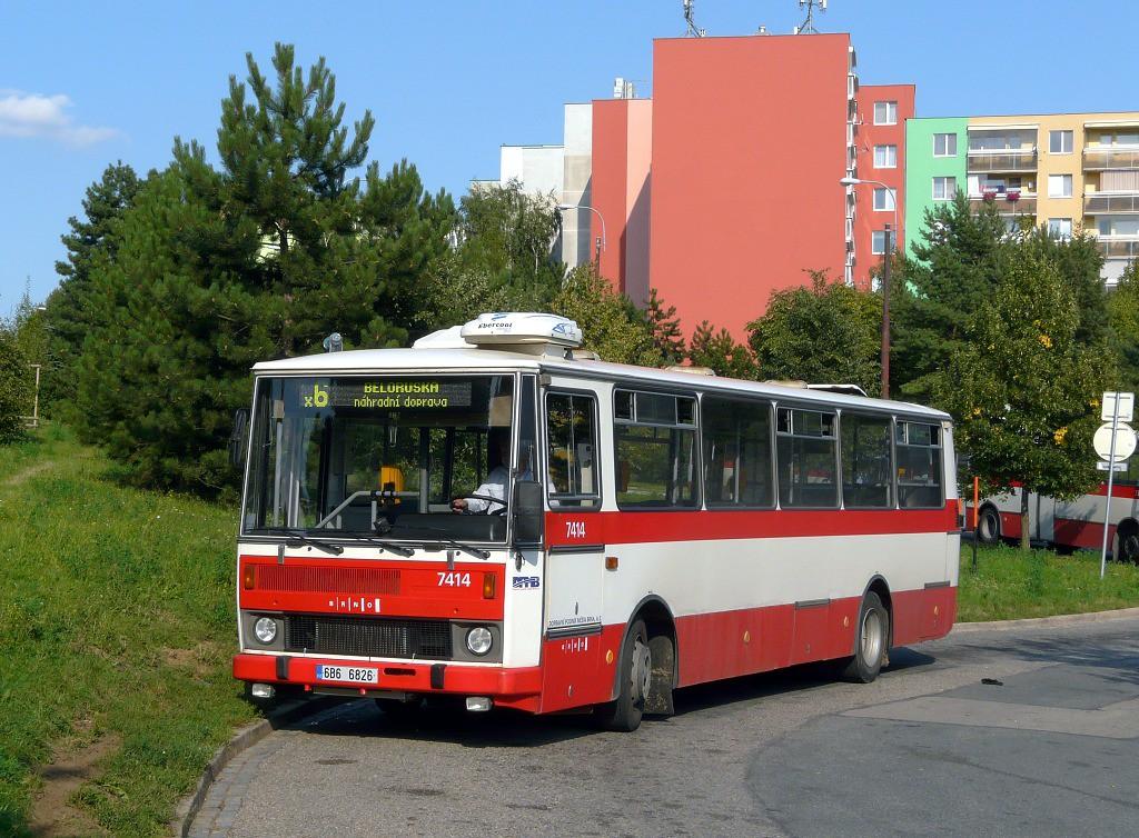 Fotogalerie » Karosa B731.1669 6B6 6826 7414   Brno   Starý Lískovec   Labská   Labská