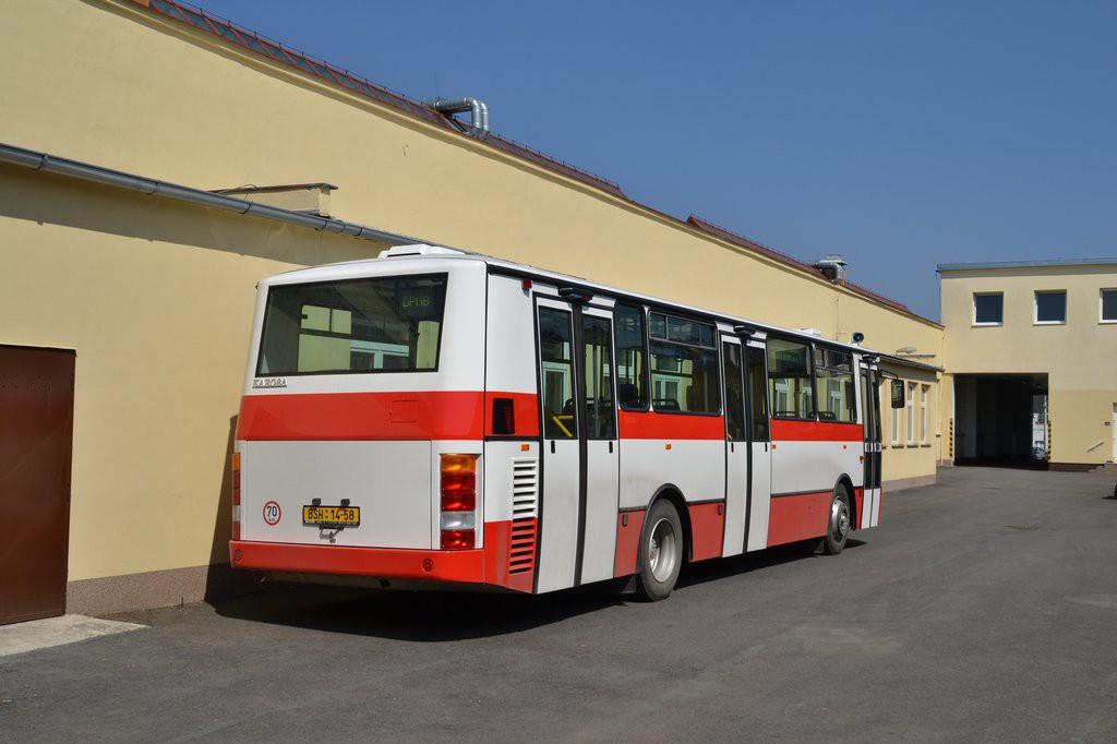 Fotogalerie » Karosa B931E.1707 BSH 14-58 7462 | Brno | vozovna Medlánky