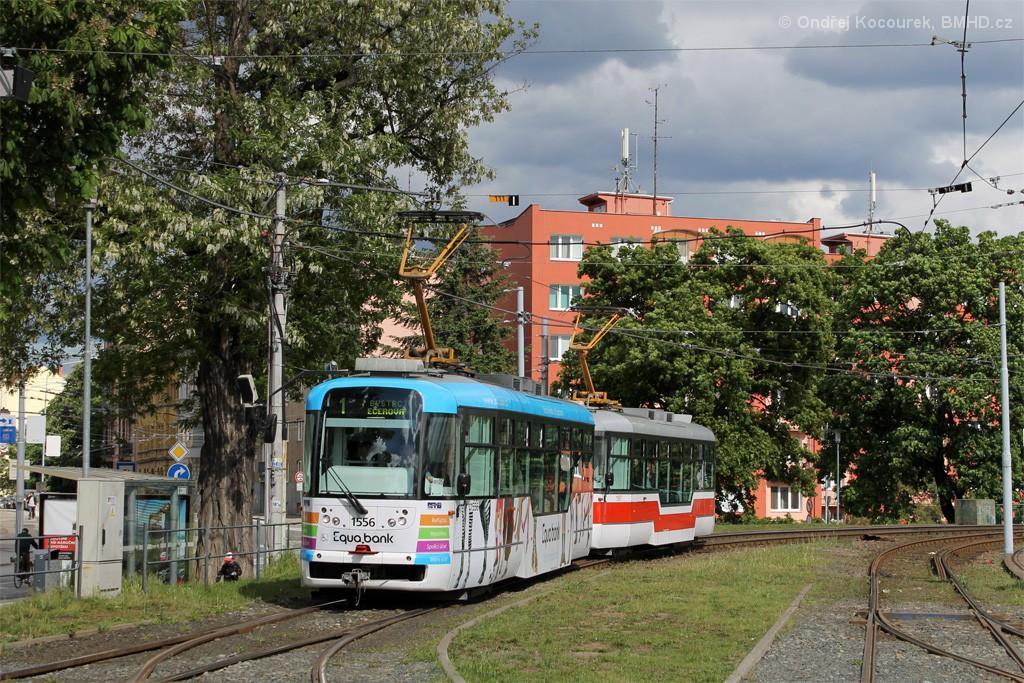 Fotogalerie » Pragoimex VarioLFR.E 1556 | Pragoimex VarioLFR.E 1597 | Brno | Pisárky | Hlinky