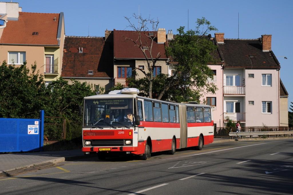Fotogalerie » Karosa B741.1924 BSC 62-04 2315 | Brno | Juliánov | Otakara Ševčíka | Škroupova
