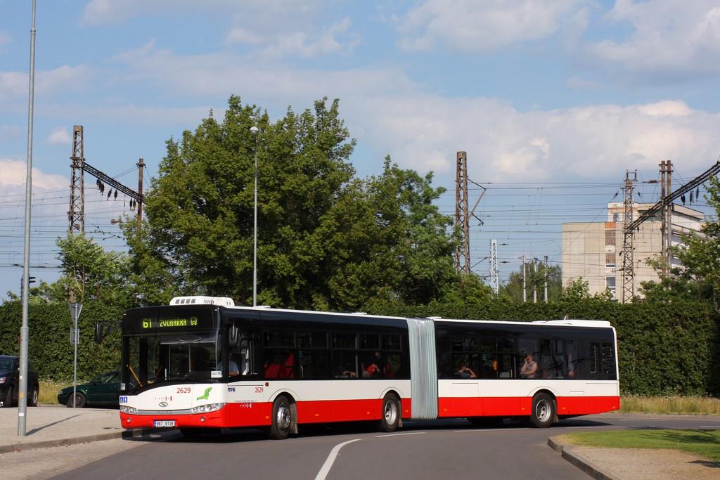 Fotogalerie » Solaris Urbino 18 III 9B7 9138 2629 | Brno | Štýřice | Pražákova