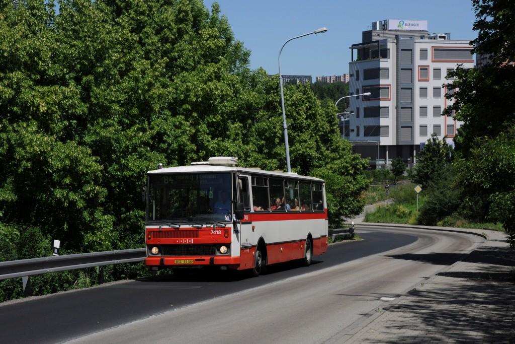 Fotogalerie » Karosa B731.1669 BSC 69-06 7418 | Brno | Černá Pole | Fügnerova