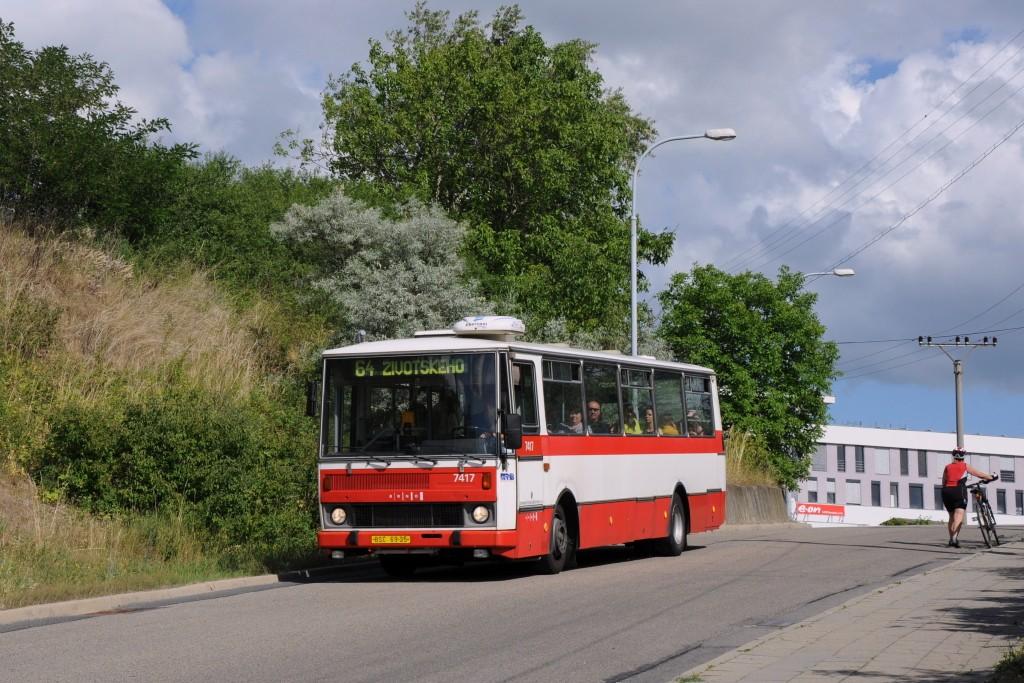Fotogalerie » Karosa B731.1669 BSC 69-05 7417 | Brno | Maloměřice | Hády