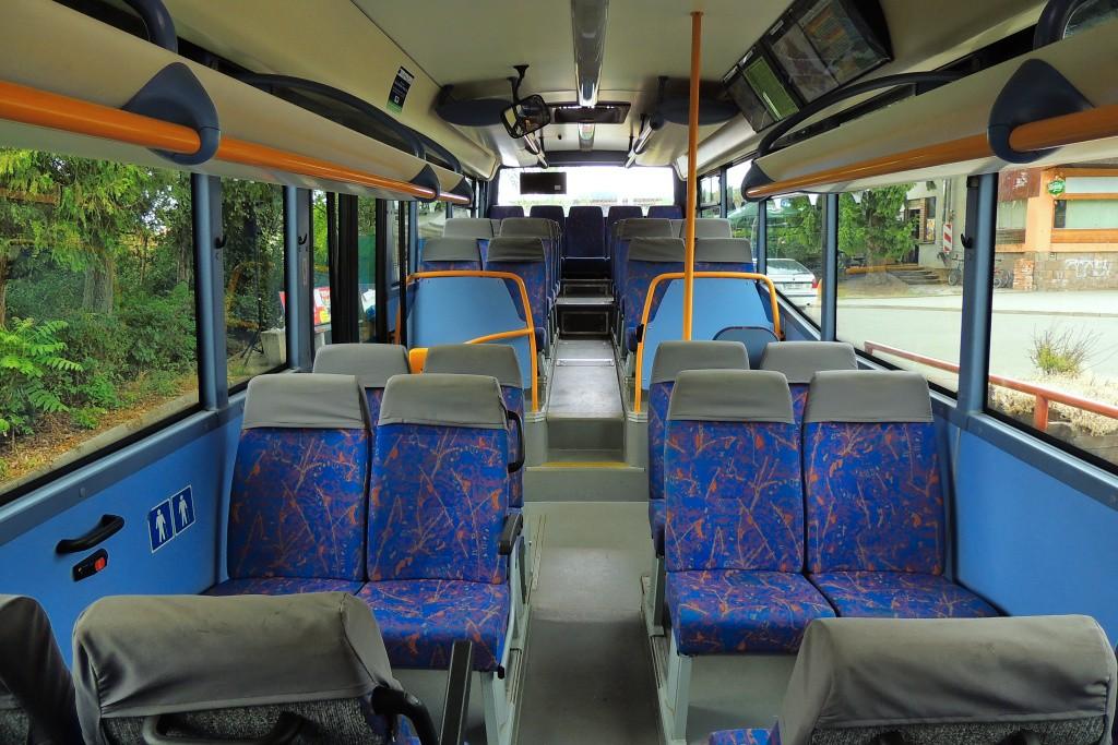 Fotogalerie » Irisbus Crossway LE 12M 7B2 3127 | Kuřim | Nádražní | Kuřim, železniční stanice