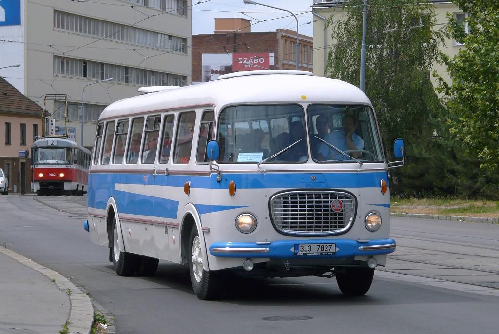 Fotogalerie » Škoda 706 RTO CAR 3J3 7827 | Brno | Židenice | Bubeníčkova