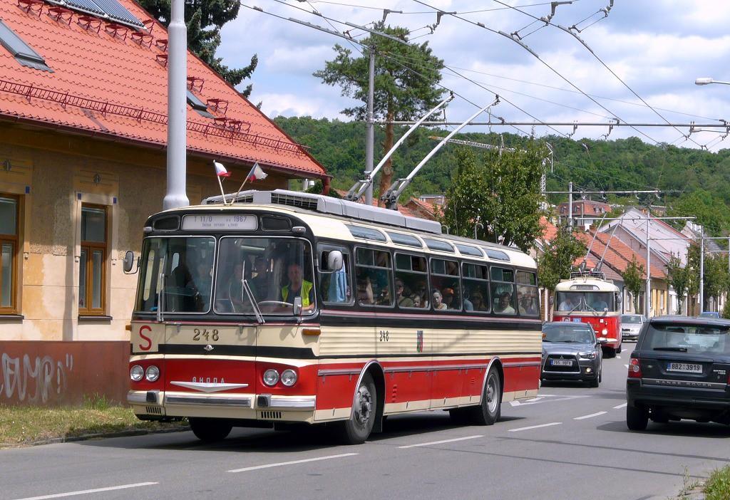 Fotogalerie » Škoda T11/0 248 | Brno | Komín | Hlavní