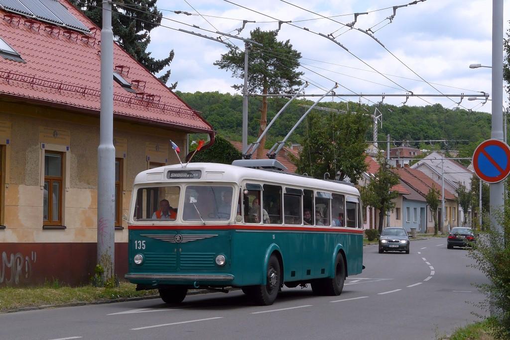 Fotogalerie » Škoda 6Tr2 135 | Brno | Komín | Hlavní