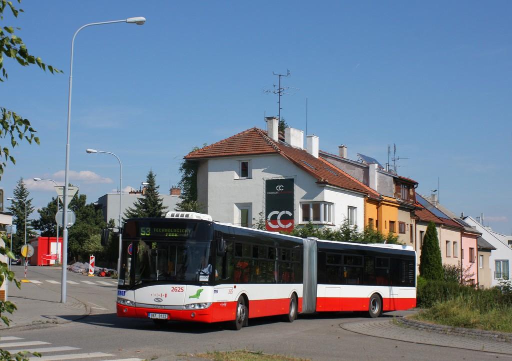 Fotogalerie » Solaris Urbino 18 III 9B7 9133 2625 | Brno | Štefánikova čtvrť | Kohoutova
