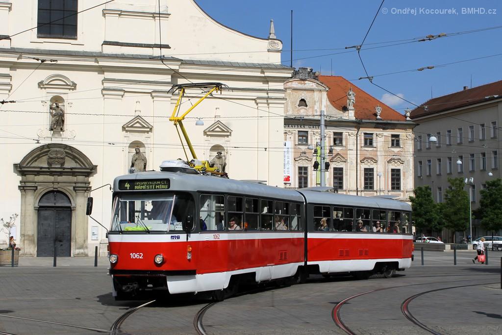 Fotogalerie » ČKD Tatra K2P 1062 | Brno | střed | Moravské náměstí