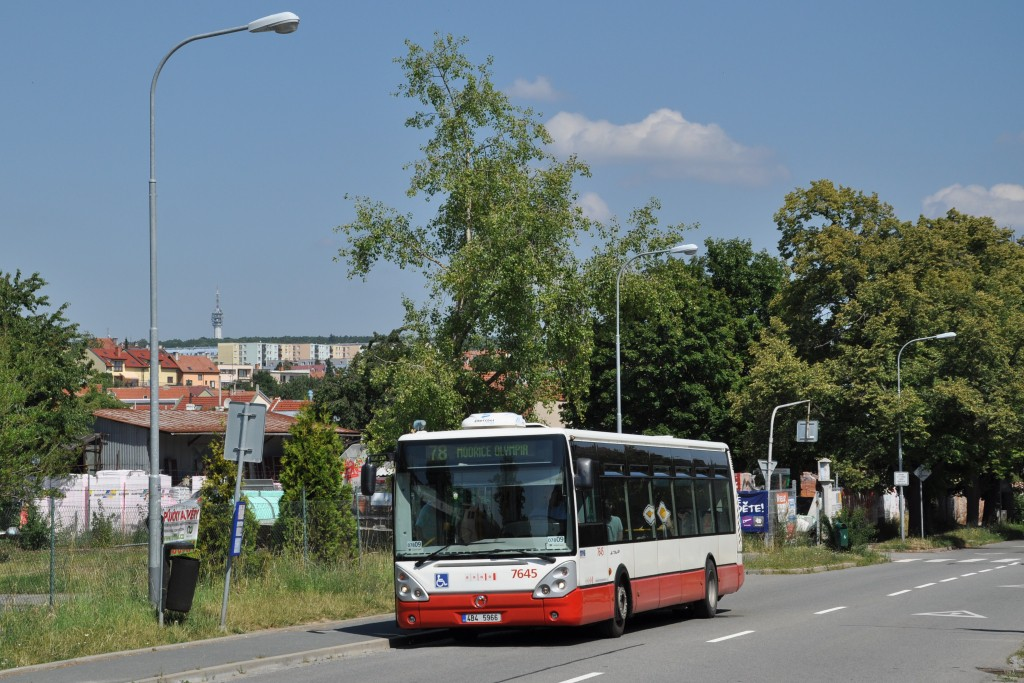 Fotogalerie » Irisbus Citelis 12M 4B4 5966 7645 | Brno | Líšeň | Holzova | Muzeum dopravy