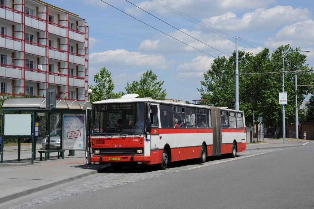 Fotogalerie » Karosa B741.1916 BSC 28-97 2301 | Brno | Vinohrady | Pálavské náměstí | Bzenecká