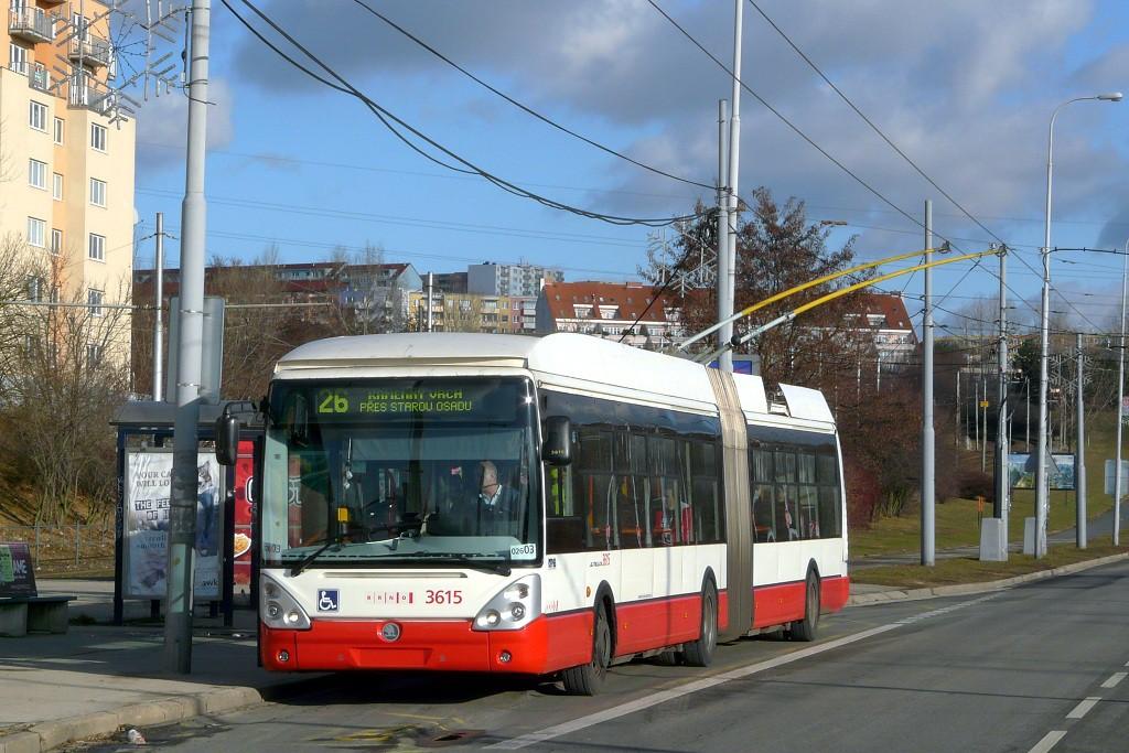 Fotogalerie » Škoda 25Tr Citelis 1B 3615 | Brno | Líšeň | Novolíšeňská | Novolíšeňská