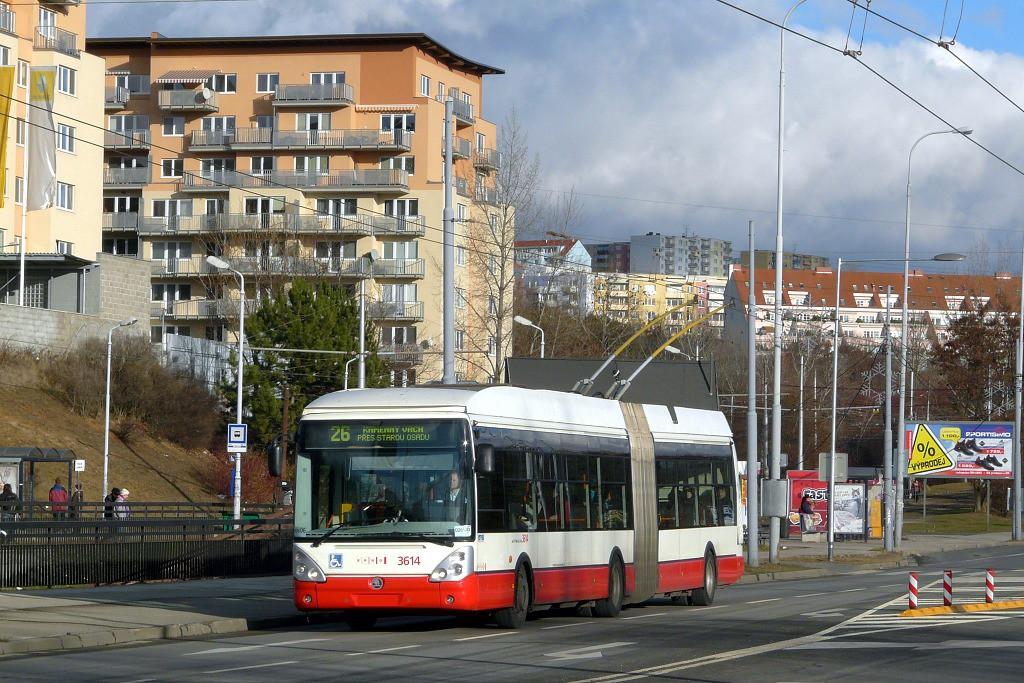 Fotogalerie » Škoda 25Tr Citelis 1B 3614 | Brno | Líšeň | Novolíšeňská