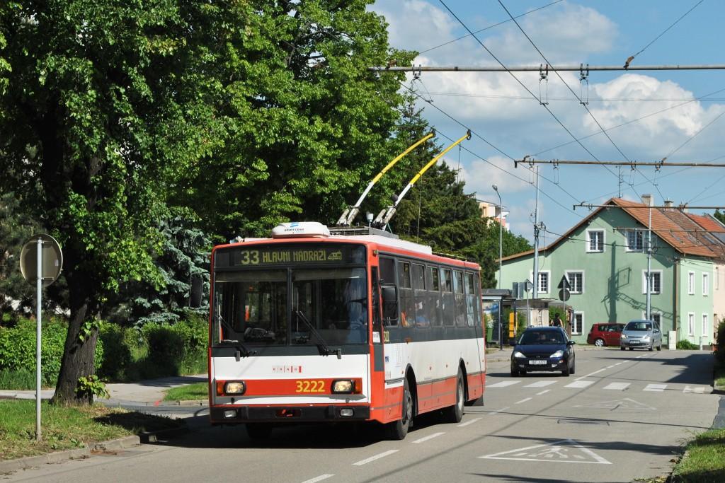Fotogalerie » Škoda 14TrR 3222 | Brno | Slatina | Tilhonova
