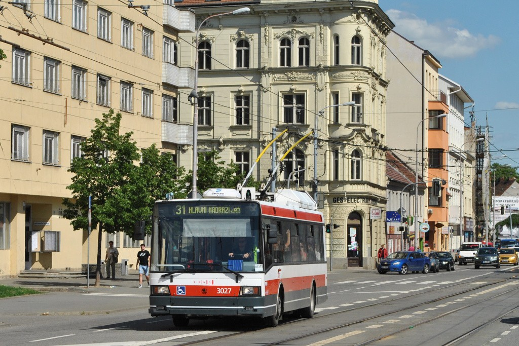 Fotogalerie » Škoda 21Tr 3027 | Brno | střed