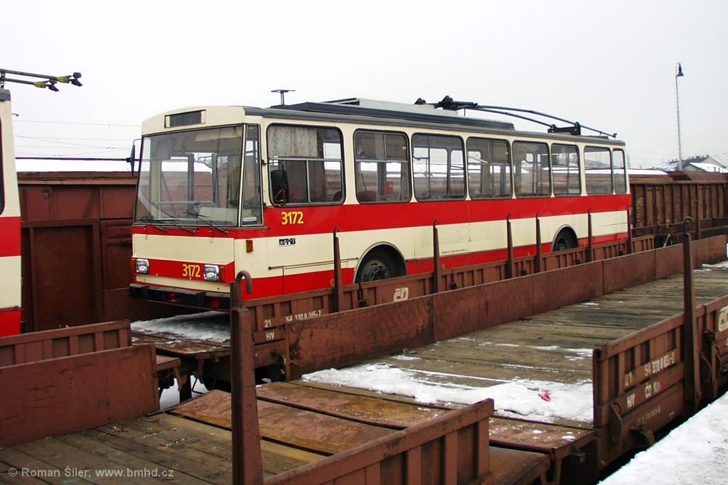 Fotogalerie » Škoda 14Tr01 3172 | Brno | Trnitá | Dolní nádraží