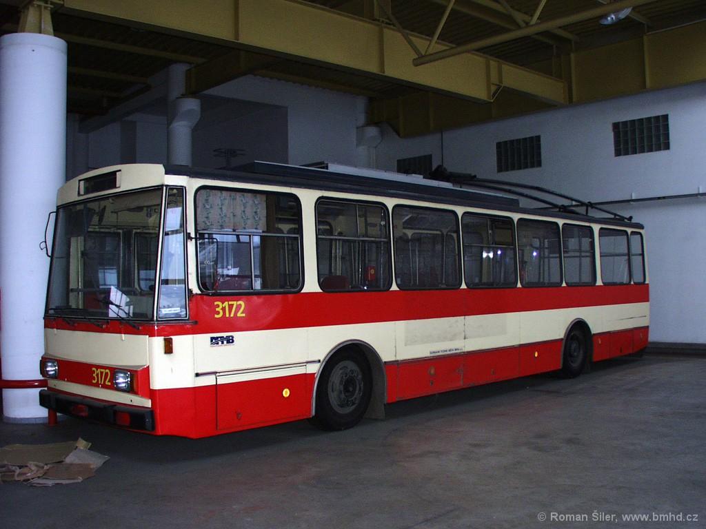 Fotogalerie » Škoda 14Tr01 3172 | Brno | Komín | vozovna Komín