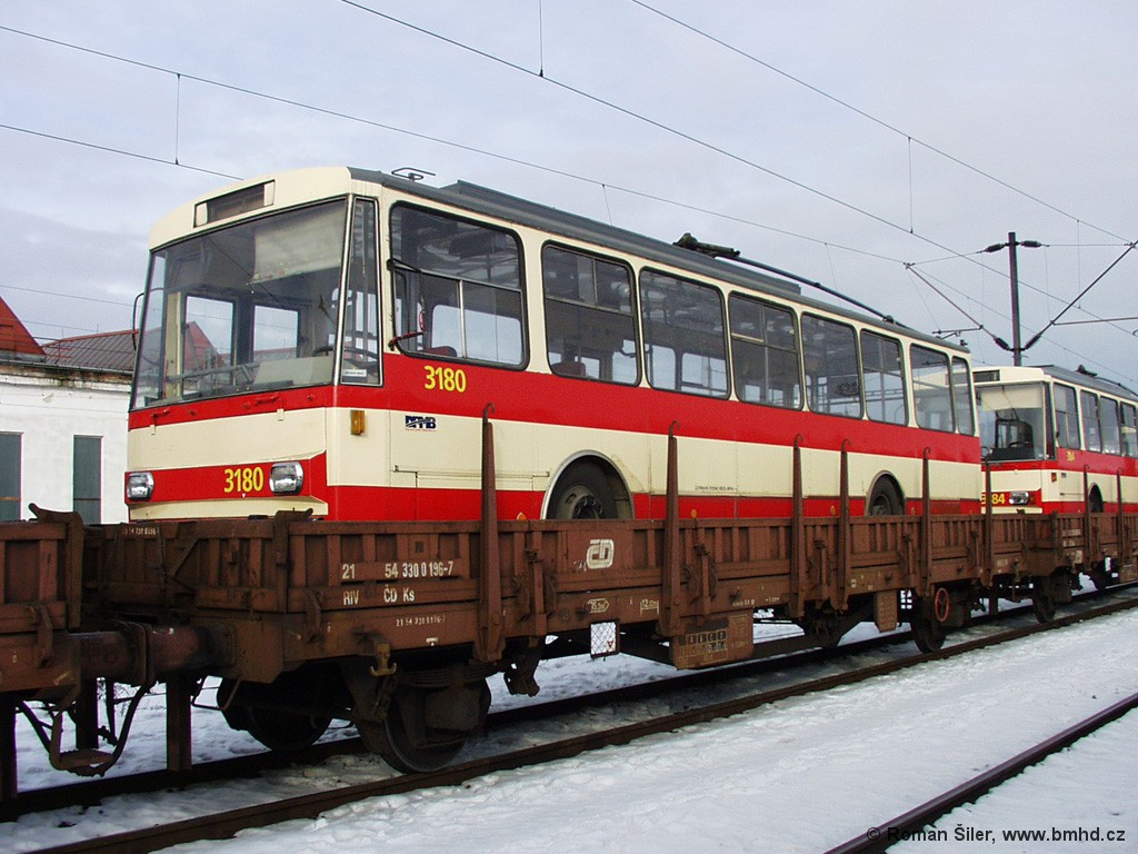 Fotogalerie » Škoda 14Tr01 3180 | Brno | Trnitá | Dolní nádraží