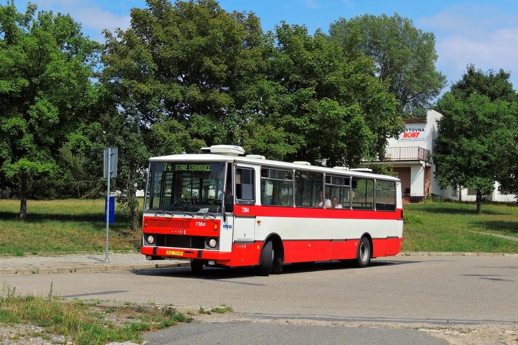 Fotogalerie » Karosa B732.1654.3 BSC 39-56 7384 | Brno | Maloměřice | Podzimní | Podzimní