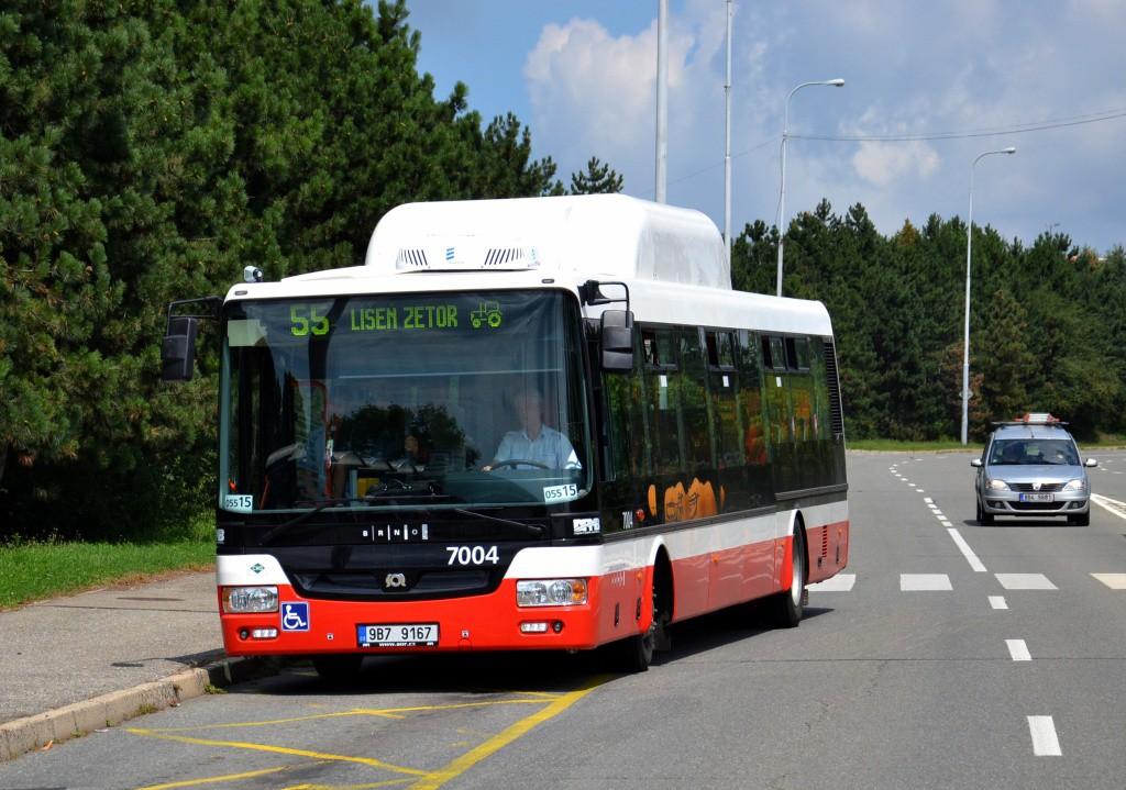 Fotogalerie » SOR NBG 12 9B7 9167 7004 | Brno | Líšeň | Novolíšeňská