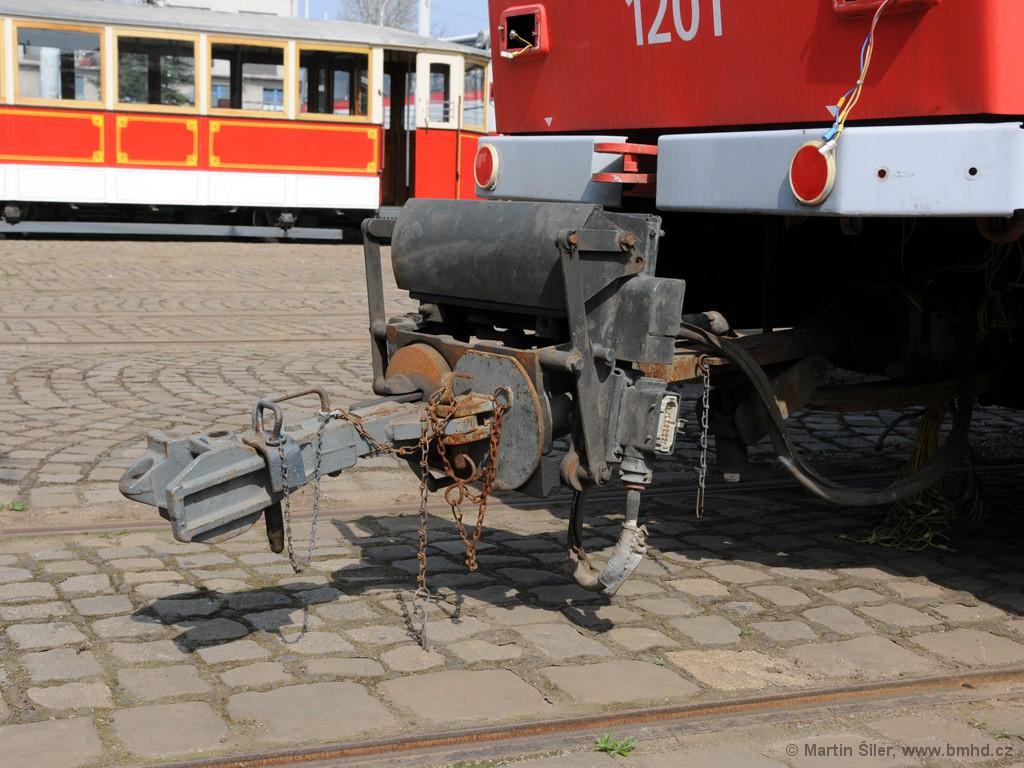Fotogalerie » ČKD DS T6A5 1201 | Brno