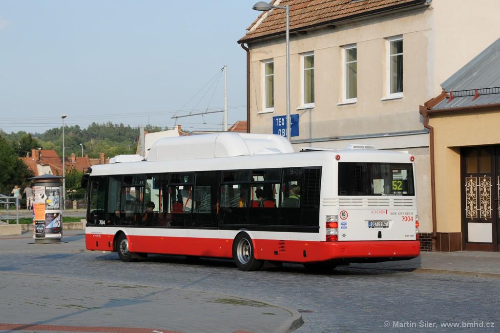 Fotogalerie » SOR NBG 12 9B7 9167 7004 | Brno | Bystrc | Zoologická zahrada, smyčka