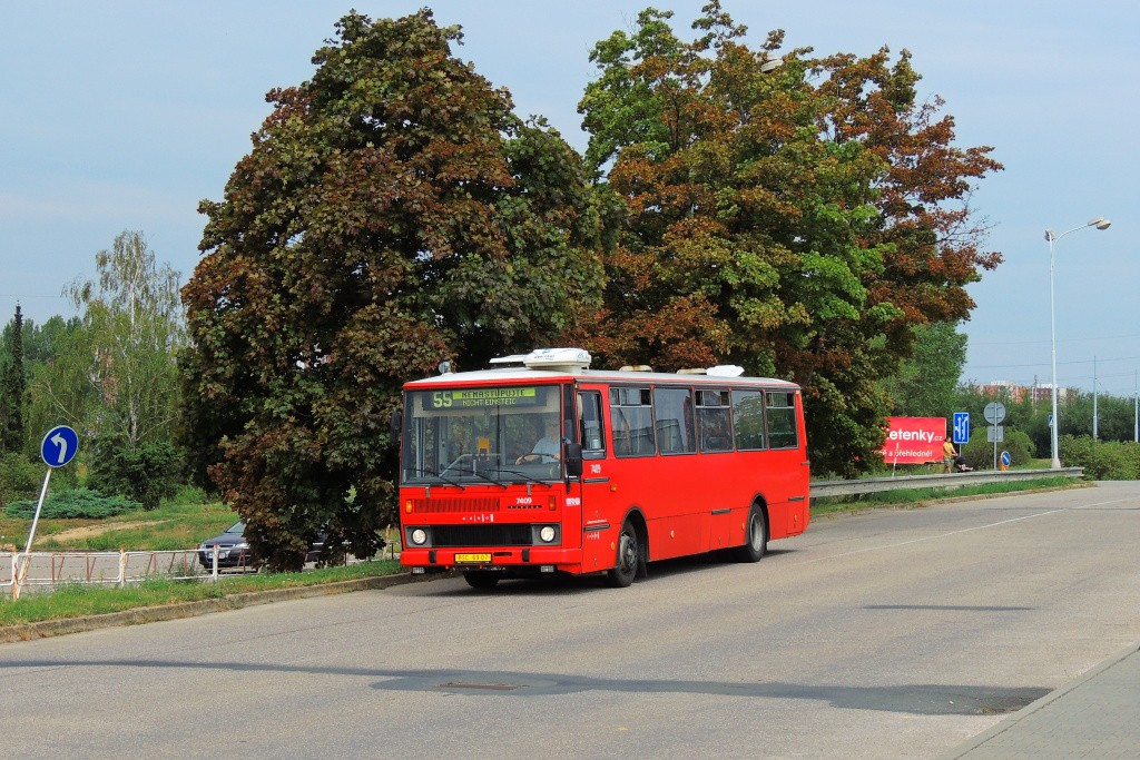 Fotogalerie » Karosa B731.1669 BSC 69-07 7409 | Brno | Líšeň | Trnkova