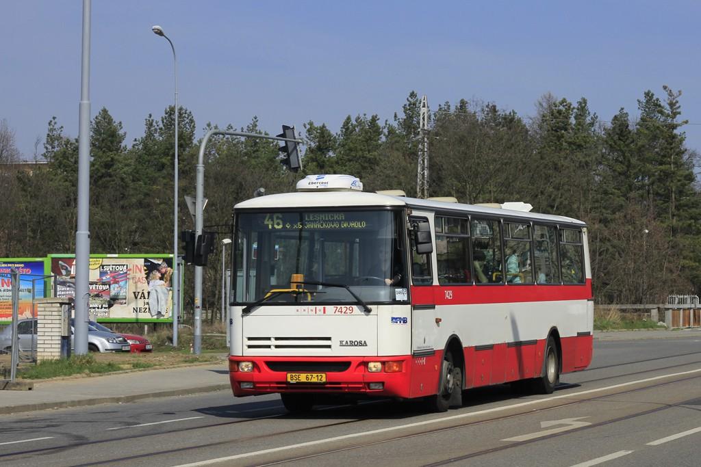 Fotogalerie » Karosa B931.1675 BSE 67-12 7429 | Brno | Štefánikova Čtvrť | Merhautova