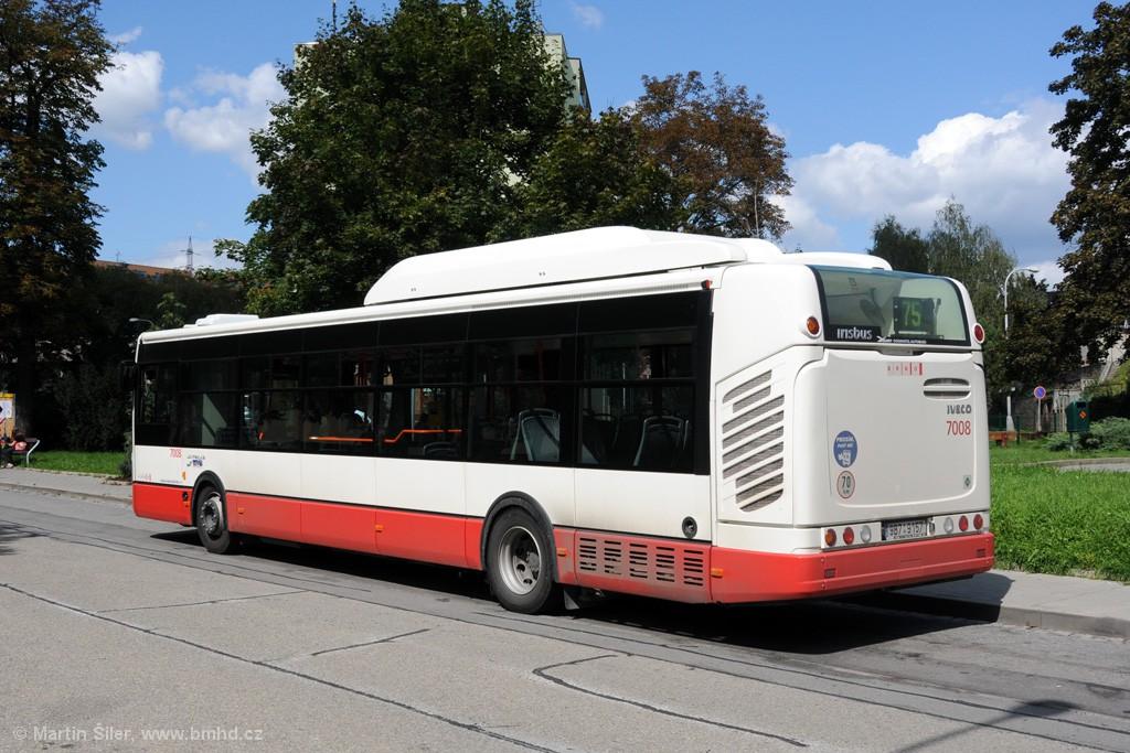 Fotogalerie » Irisbus Citelis 12M CNG 9B7 9157 7008 | Brno | Obřany | Obřany, sídliště