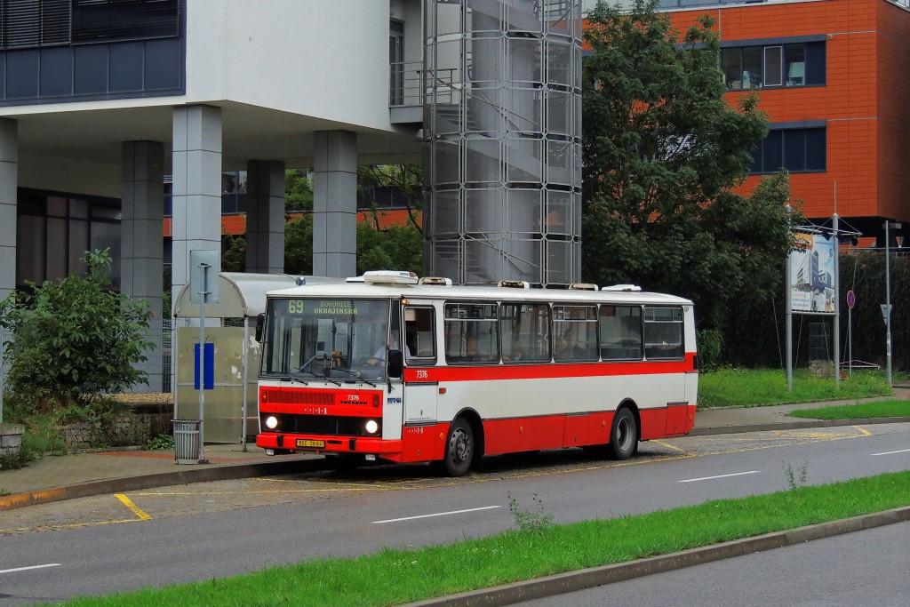 Fotogalerie » Karosa B732.1654.3 BSC 38-64 7376 | Brno | Bohunice | Kamenice | Kamenice