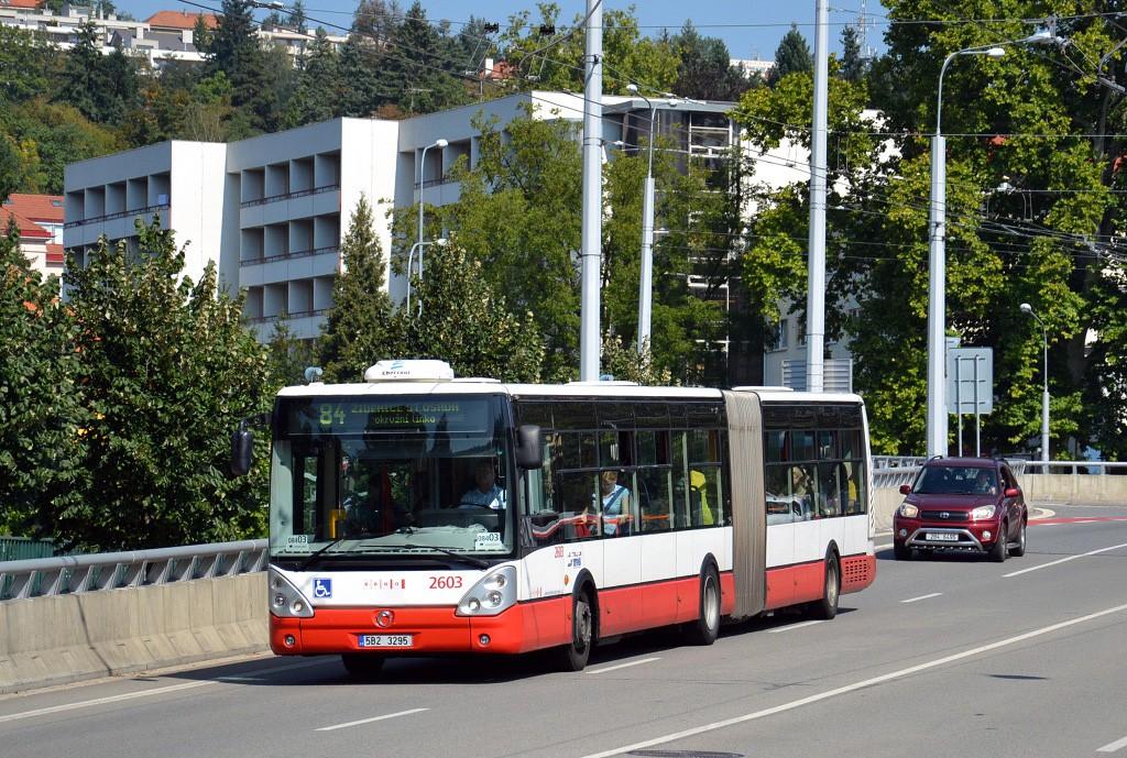 Fotogalerie » Irisbus Citelis 18M 5B2 3295 2603 | Brno | Pisárky | Pisárecká