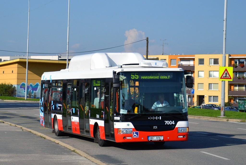 Fotogalerie » SOR NBG 12 9B7 9167 7004 | Brno | Líšeň | Novolíšeňská | Jírova